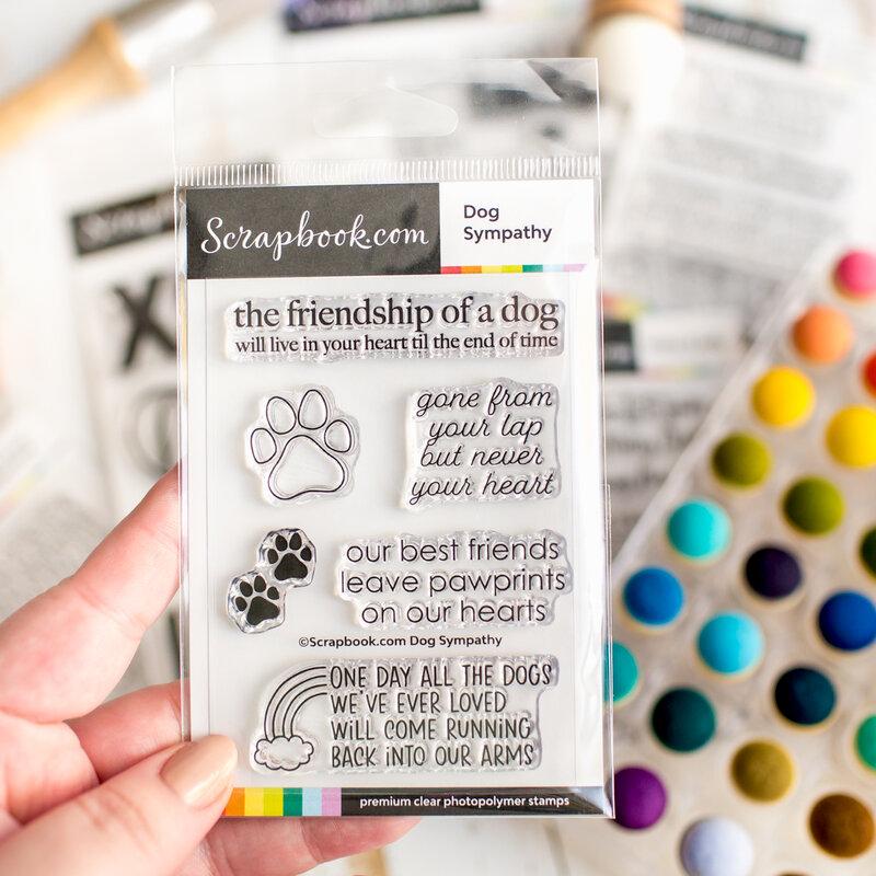 New sentiment stamps | Scrapbook.com