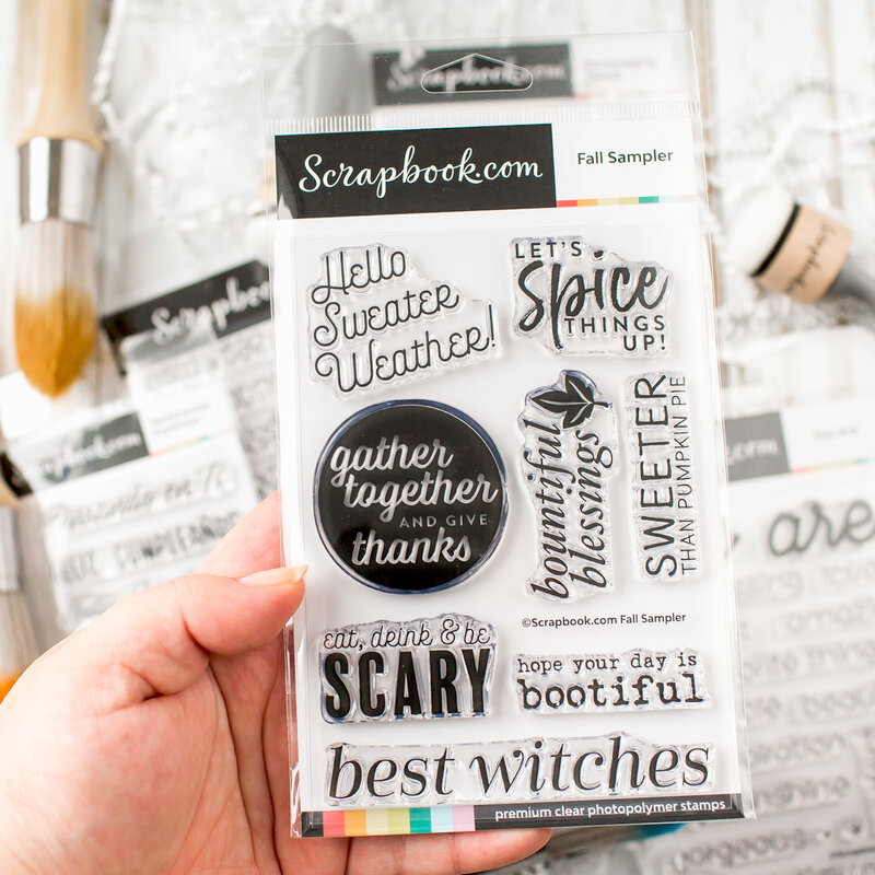 Musthave fall sentiment set