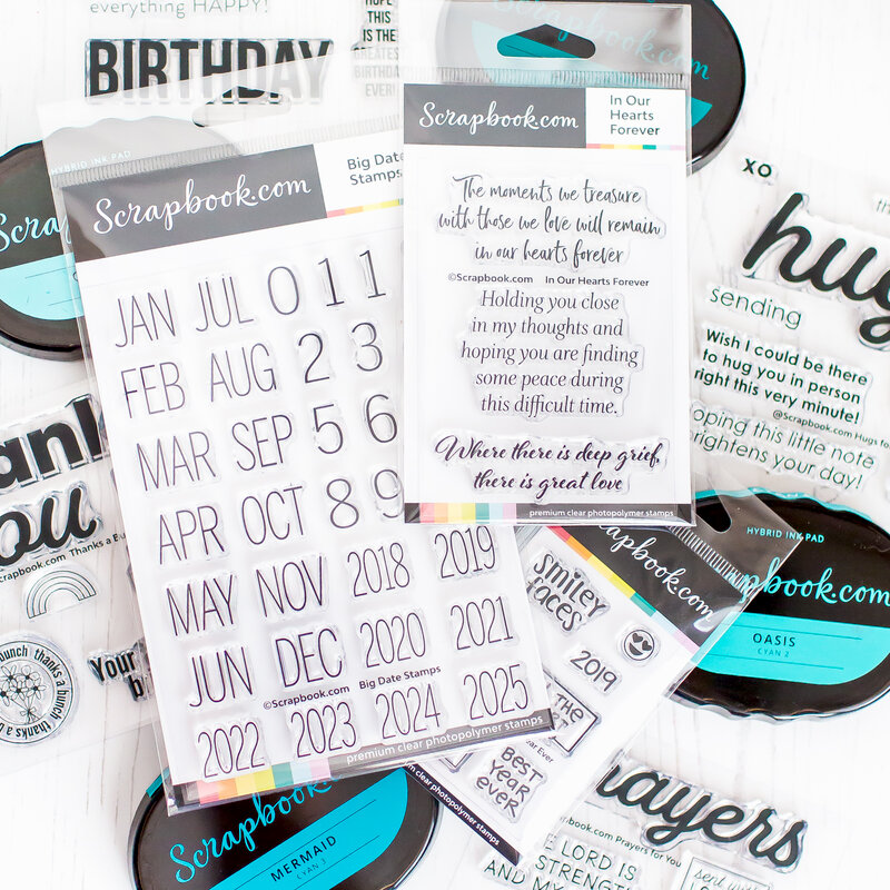 May Sentiment stamps |Scrapbook.com