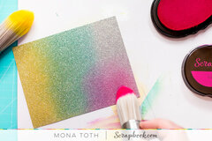Gradient Glitter Background | Scrapbook.com