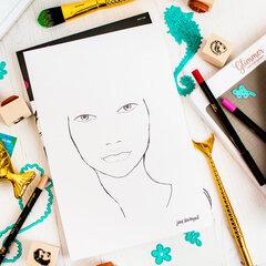 Jane Davenport | Face Coloring