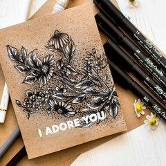 Coloring tutorial | I adore you
