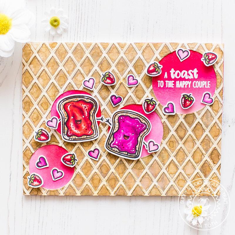 Sunny Studio Stamps | Breakfast Puns