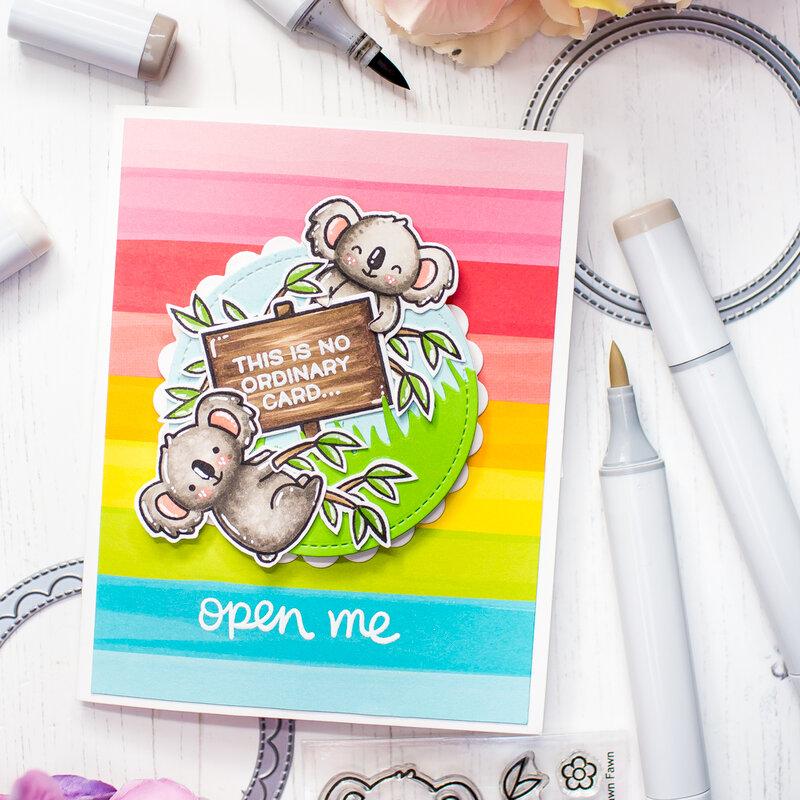 Open Me | Tunel Card