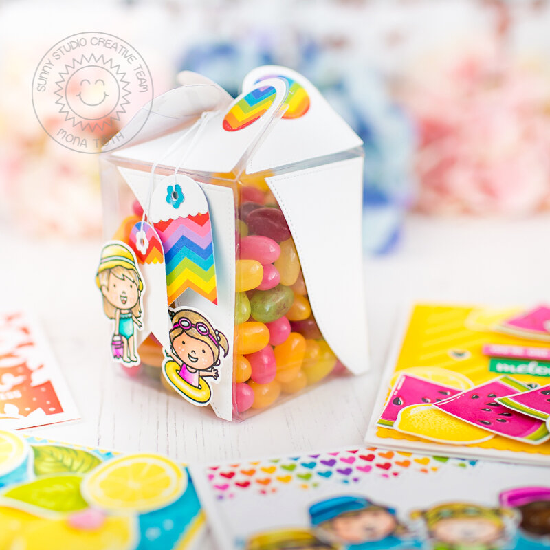 Candy Box   Sunny Studio Stamps