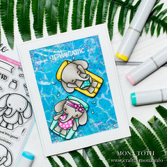 Have an elephantastic day | Heffy Doodle