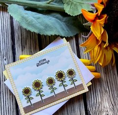 Sunny studio stamps - Fall card