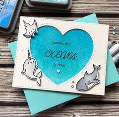 Heffy doodle- Love card