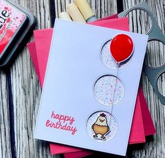 Sunny studio stamps - Happy birthday card