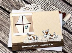 Heffy doodle - Happy card
