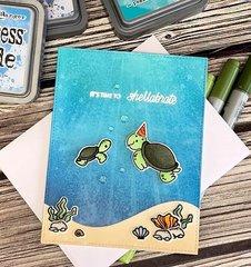 Heffy doodle - Birthday card