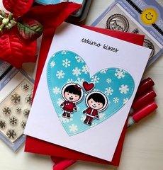 Sunny studio stamps - Chritmas card