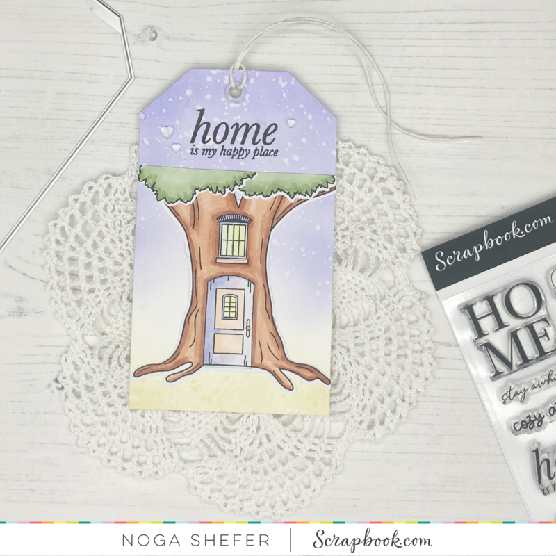 Tag for a new home