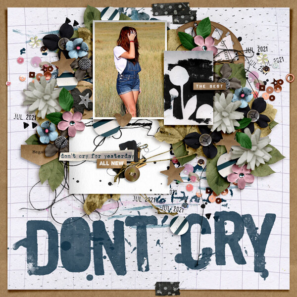 dont cry for yesterday