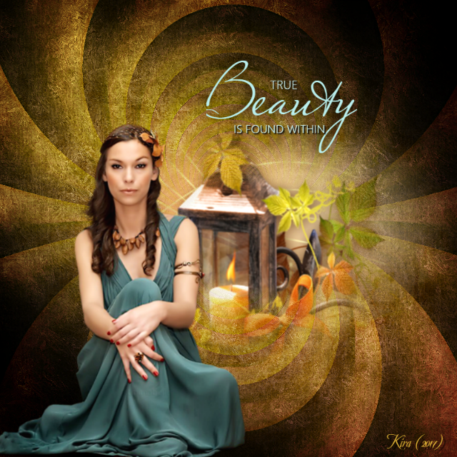 TRUE BEAUTY IS FOUND WITHIN.
