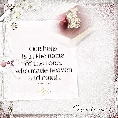 Psalm 124: 8