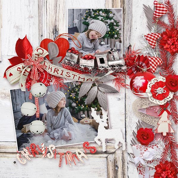 Naughty or Nice by Ilonka's Scrapbook  Designs