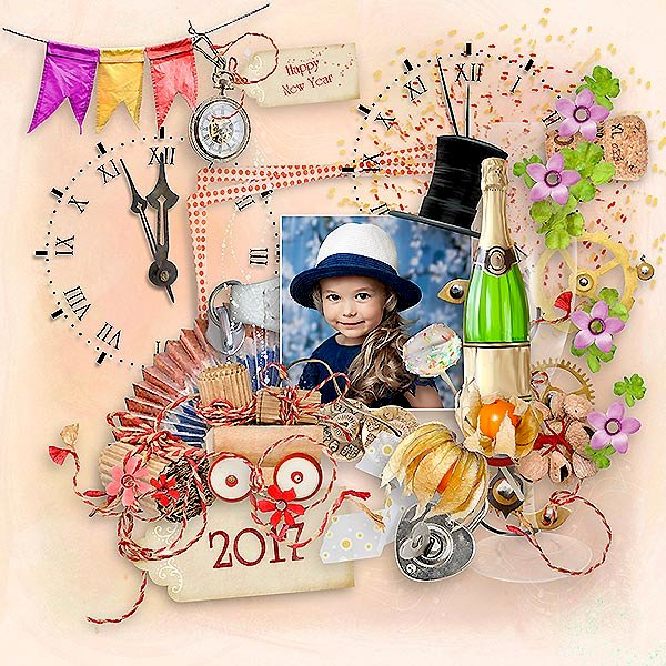 New Year Celebration by MiSi Scrap