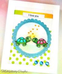 Valentine's Day Turtle Love