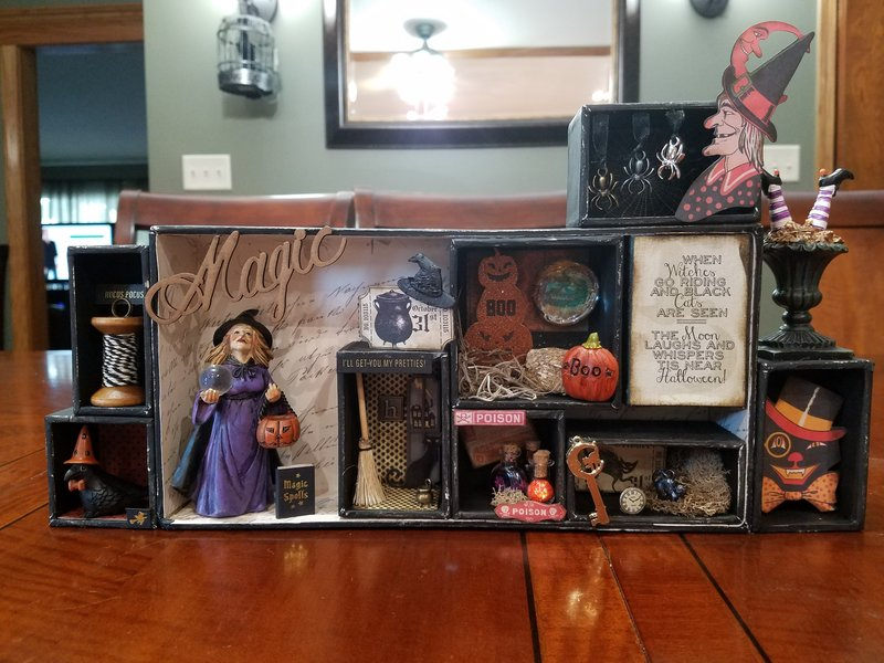 Halloween configuration box