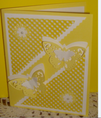 SANDY'S BUTTERFLY CARD