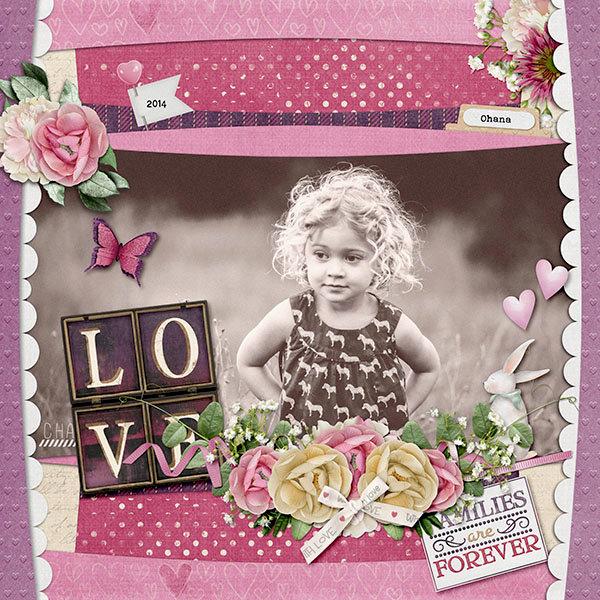 Love Always-Paper Play #24