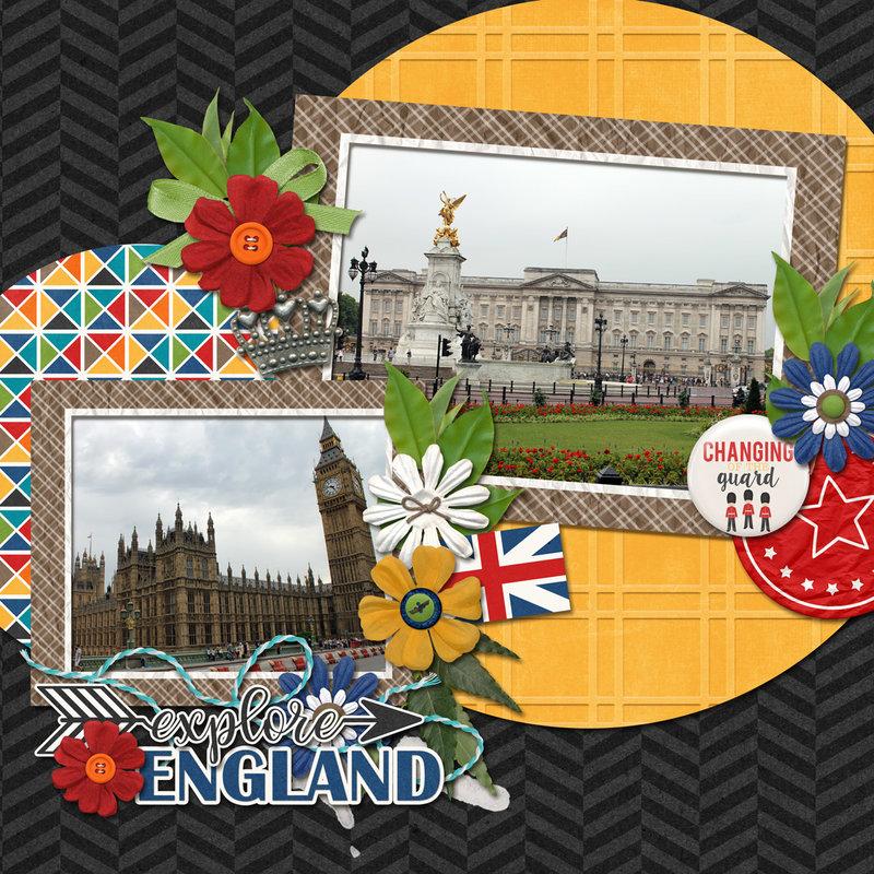 Connie Prince - Travelogue Oklahoma & England