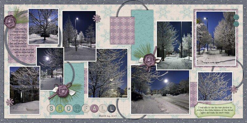 Dandelion Dust Designs - Snowfall