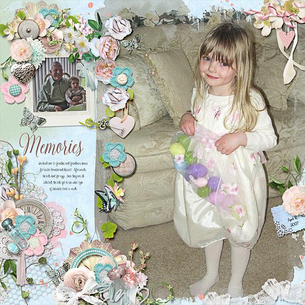 Easter Memories at Grandma and Grandpas