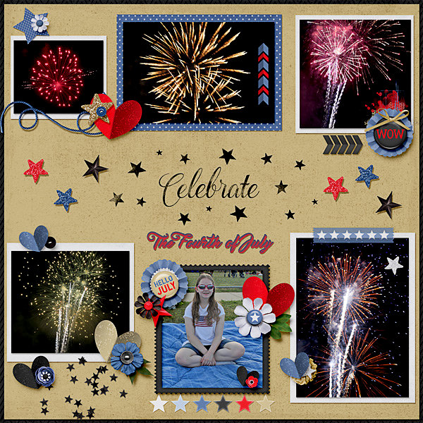 Celebrate Fourth of July