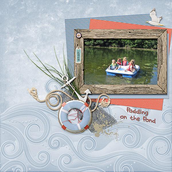 Paddling on the Pond
