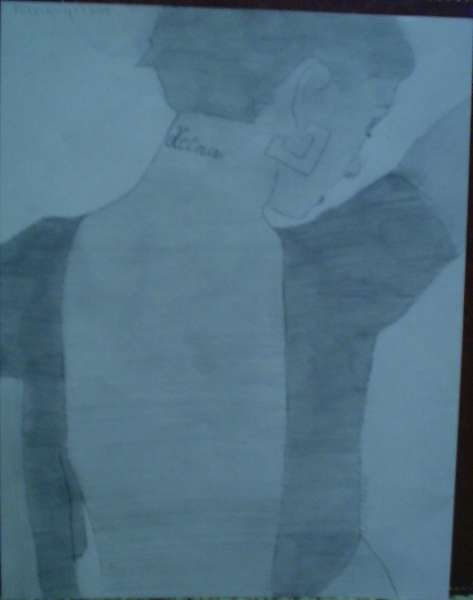 Christina Aguilera drawing