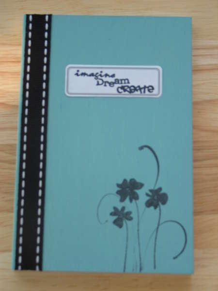 Blissful Blue Notebook