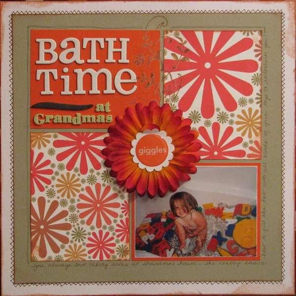 Bathtime at Grandma's