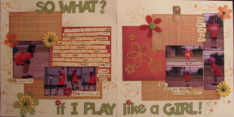 So What? If I Play Like A Girl!