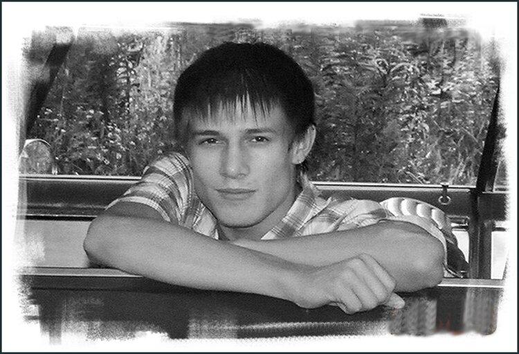 Senior head shot of my son Thomas