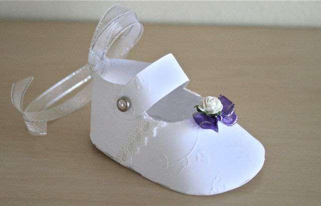 Christening shoe