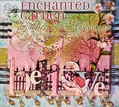 Enchanted Garden - BELIEVE book cover