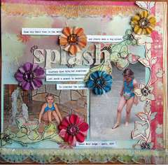 Splash *Prima* Stitched Mulberry