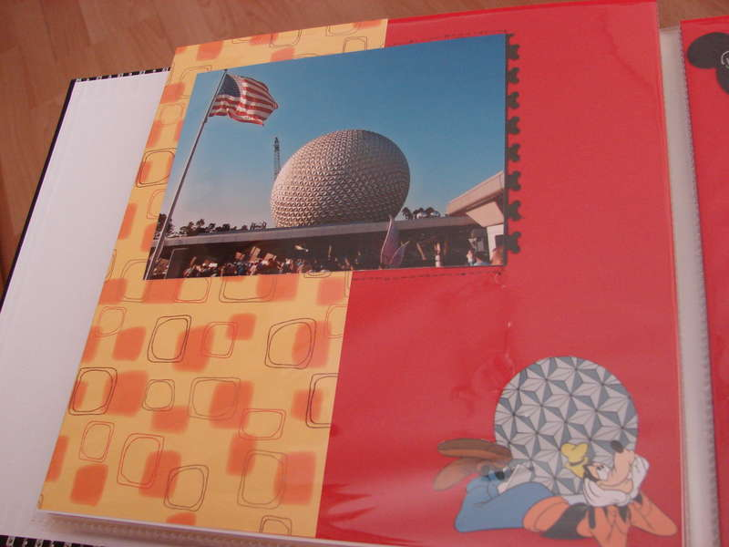 day 1 epcot left page