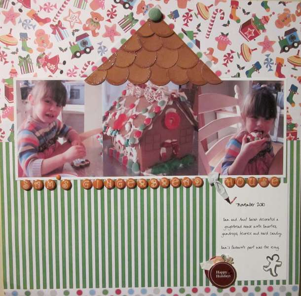 Sam's Gingerbread House