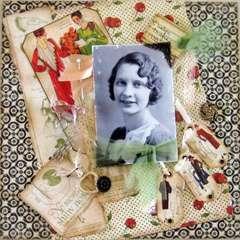 Grandma in 1933
