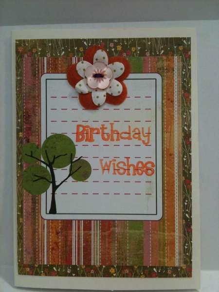 card using Basic Grey Green at Heart