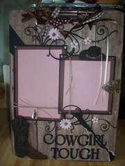Cowgirl tough Clipboard