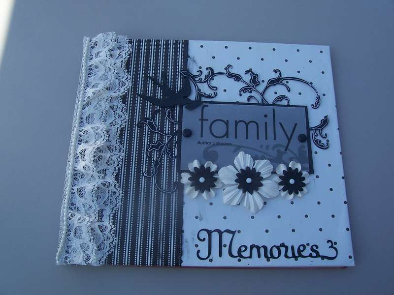 8x8 Family Menories  Custom album