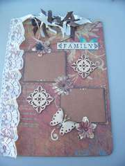 Family memories clipboard