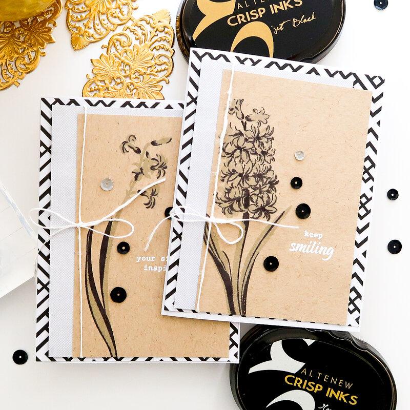Altenew Hyacinth Cards