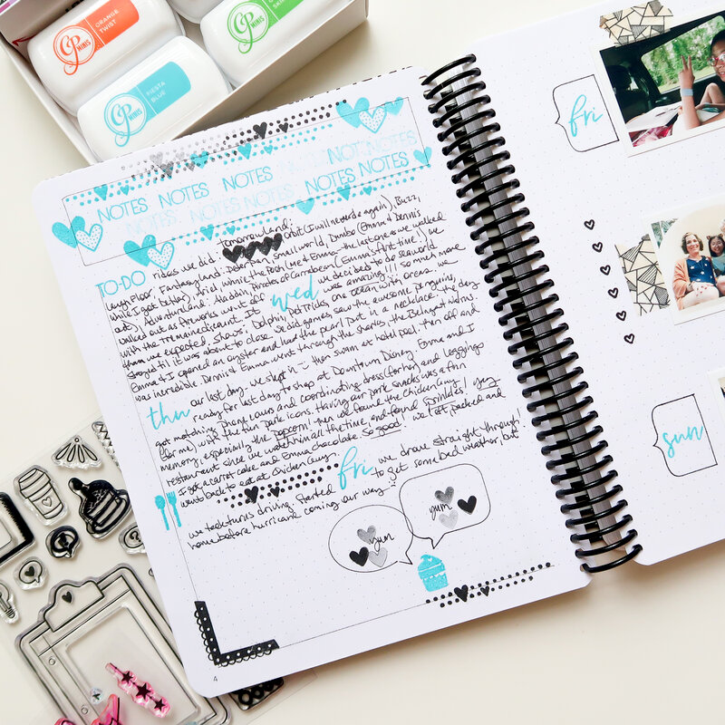 Canva Bullet Journal | July
