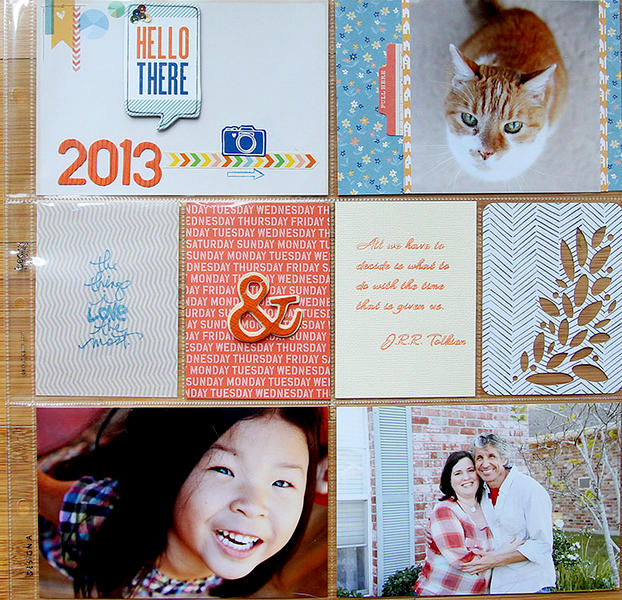 Project Life 2013 Title Page *American Crafts*
