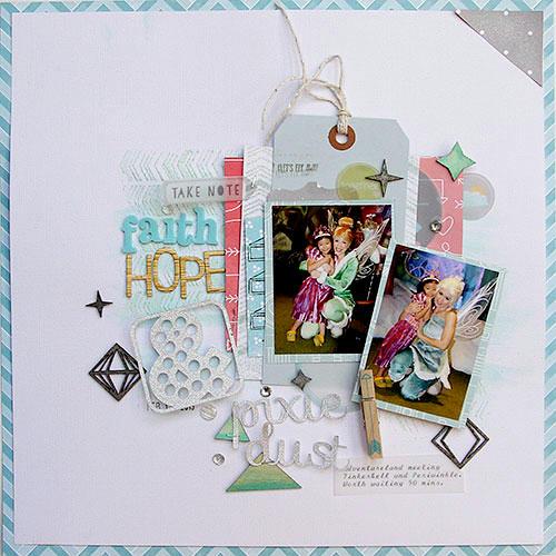 Faith, Hope & Pixie Dust *American Crafts*